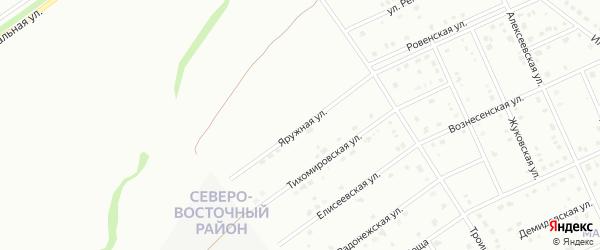 Яружная улица на карте Старого Оскола с номерами домов