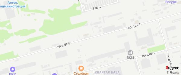 Площадка Транспортная проезд Ш-4 на карте станции Котла промузла с номерами домов