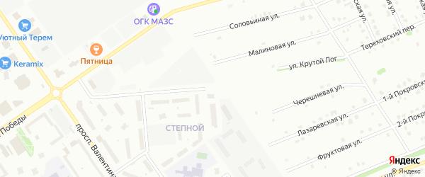 Улица Крутой Лог на карте Старого Оскола с номерами домов