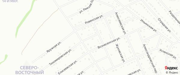 1-й Троицкий переулок на карте Старого Оскола с номерами домов