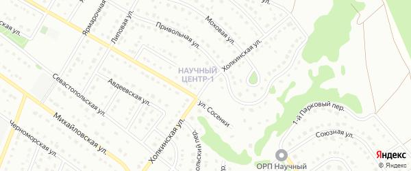 Холкинская улица на карте Старого Оскола с номерами домов