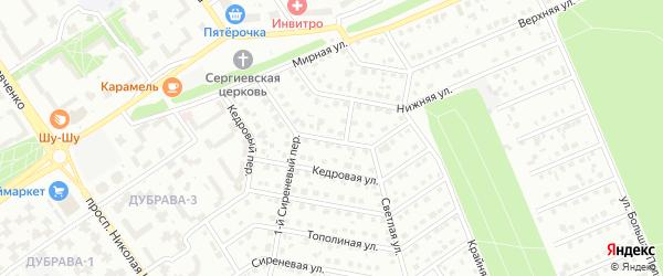 Загородная улица на карте Старого Оскола с номерами домов
