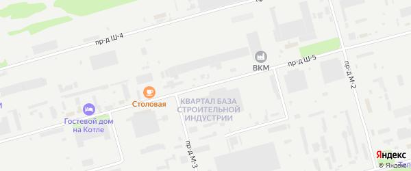 Площадка Строительная проезд Ш-5 на карте станции Котла промузла с номерами домов