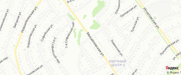 Орловская улица на карте Старого Оскола с номерами домов