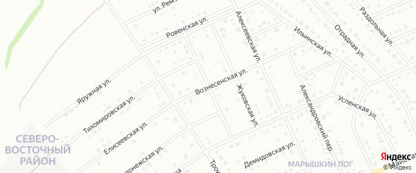 Андреевская улица на карте Старого Оскола с номерами домов