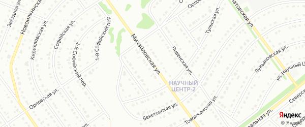 Михайловская улица на карте Старого Оскола с номерами домов