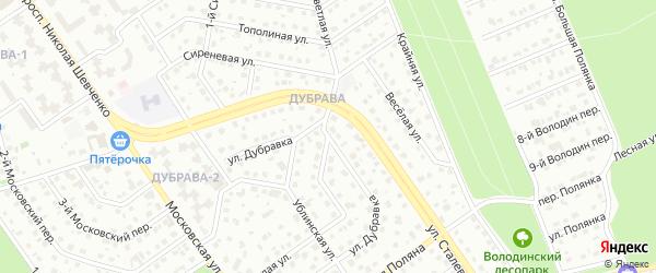 Светлая улица на карте Старого Оскола с номерами домов