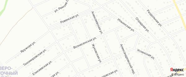 Вознесенская улица на карте Старого Оскола с номерами домов
