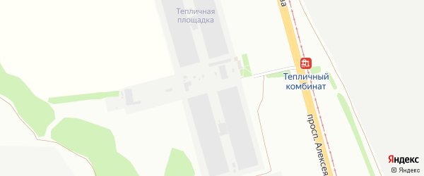 Площадка Тепличная проезд Ш-2 на карте станции Котла промузла с номерами домов
