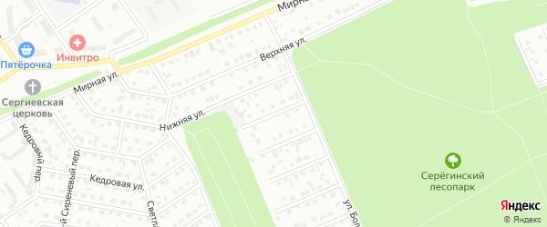 Переулок 1-й Володин на карте Старого Оскола с номерами домов