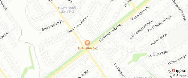 Улица Научный Центр на карте Старого Оскола с номерами домов