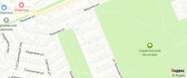 Переулок 2-й Володин на карте Старого Оскола с номерами домов