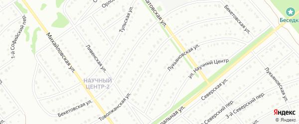 Богородская улица на карте Старого Оскола с номерами домов
