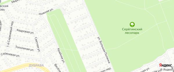 Переулок 4-й Володин на карте Старого Оскола с номерами домов