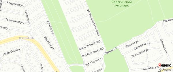 Переулок 7-й Володин на карте Старого Оскола с номерами домов