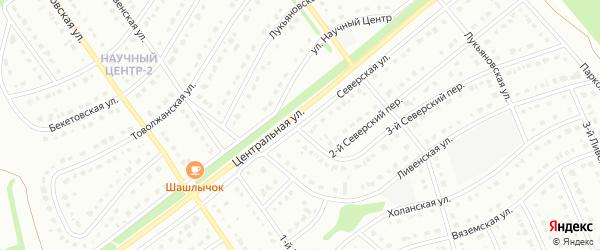 Северская улица на карте Старого Оскола с номерами домов