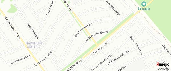 Игнатовская улица на карте Старого Оскола с номерами домов