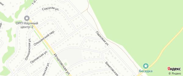 3-й Парковый переулок на карте Старого Оскола с номерами домов