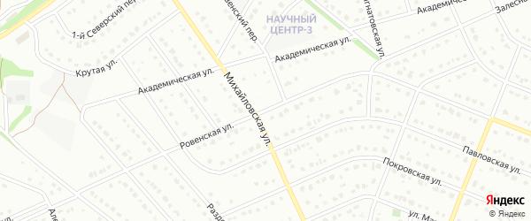 Ровенская улица на карте Старого Оскола с номерами домов