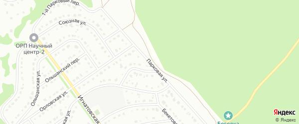 Парковая улица на карте Старого Оскола с номерами домов