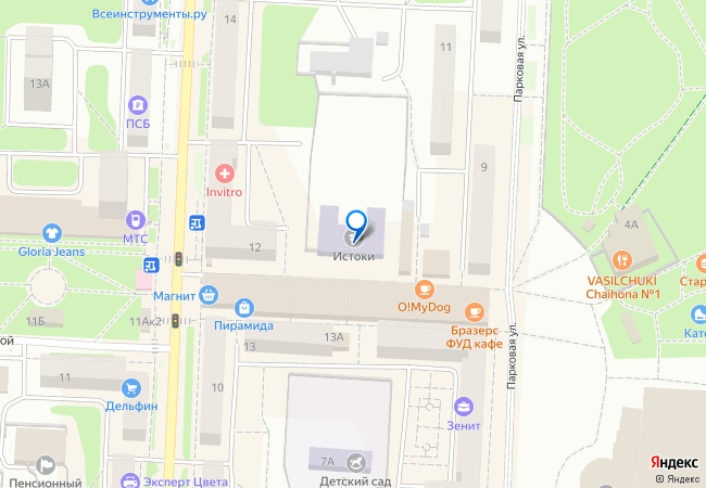 019ac8834683 улица Крупской, 16 на карте Балашихи, организации, фото подробно