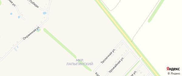 Братская улица на карте Новокладового села с номерами домов