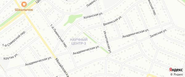 2-й Ливенский переулок на карте Старого Оскола с номерами домов