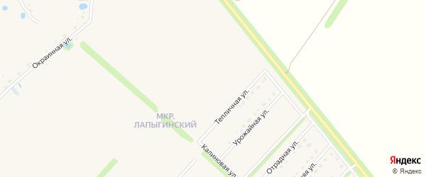 Новосельская улица на карте Новокладового села с номерами домов