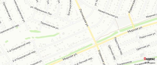 Покровская улица на карте Старого Оскола с номерами домов