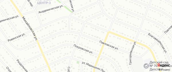 Павловская улица на карте Старого Оскола с номерами домов