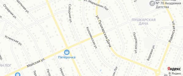 Майская улица на карте Старого Оскола с номерами домов