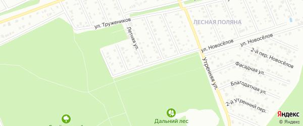 Улица Монтажников на карте Старого Оскола с номерами домов