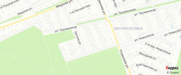 Переулок 2-й Монтажников на карте Старого Оскола с номерами домов