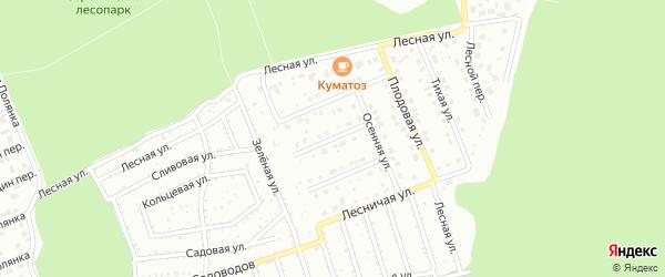 Зоологическая улица на карте Старого Оскола с номерами домов