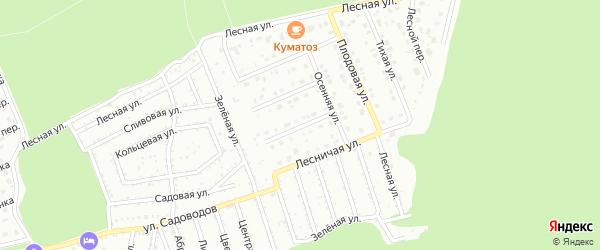 Апрельская улица на карте Старого Оскола с номерами домов