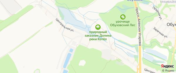 Карта села Бабанинки в Белгородской области с улицами и номерами домов