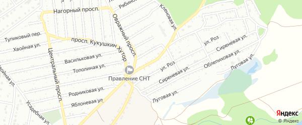 Улица Кукушкин хутор на карте Старого Оскола с номерами домов