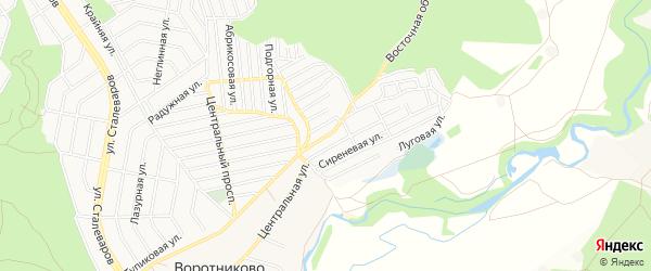 СТ Кукушкин Хутор на карте Старого Оскола с номерами домов