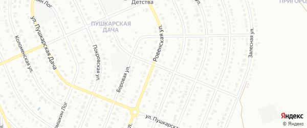 Григорьевская улица на карте Старого Оскола с номерами домов