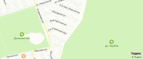 Лесничая улица на карте Старого Оскола с номерами домов