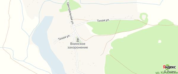 Зеленая улица на карте села Хохлово с номерами домов