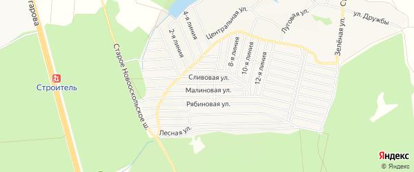 ГСК Сталь на карте Старого Оскола с номерами домов