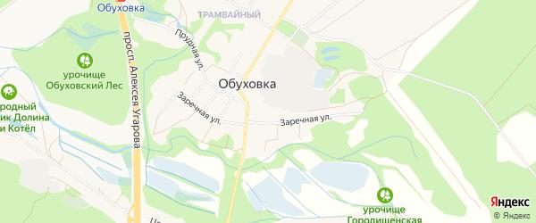 Территория ДНТ Зеленая роща на карте Улан-Удэ с номерами домов