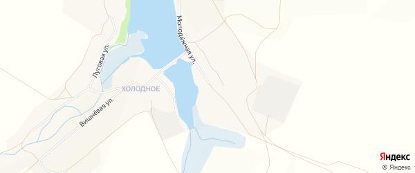 Карта села Яковлевки в Белгородской области с улицами и номерами домов