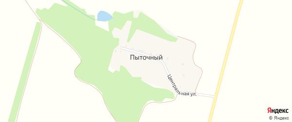 Центральная улица на карте Пыточного хутора с номерами домов