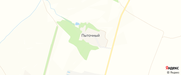 Карта Пыточного хутора в Белгородской области с улицами и номерами домов