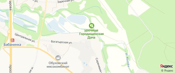 Карта села Готовьего в Белгородской области с улицами и номерами домов