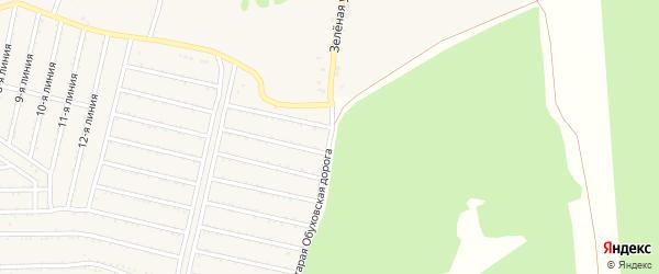 Зеленая улица на карте села Выползово с номерами домов