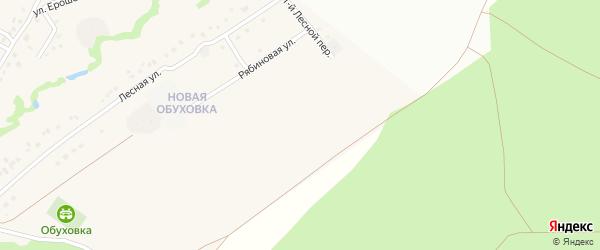 3-й Лесной переулок на карте села Обуховки с номерами домов