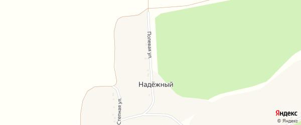 Степная улица на карте Веселого хутора с номерами домов